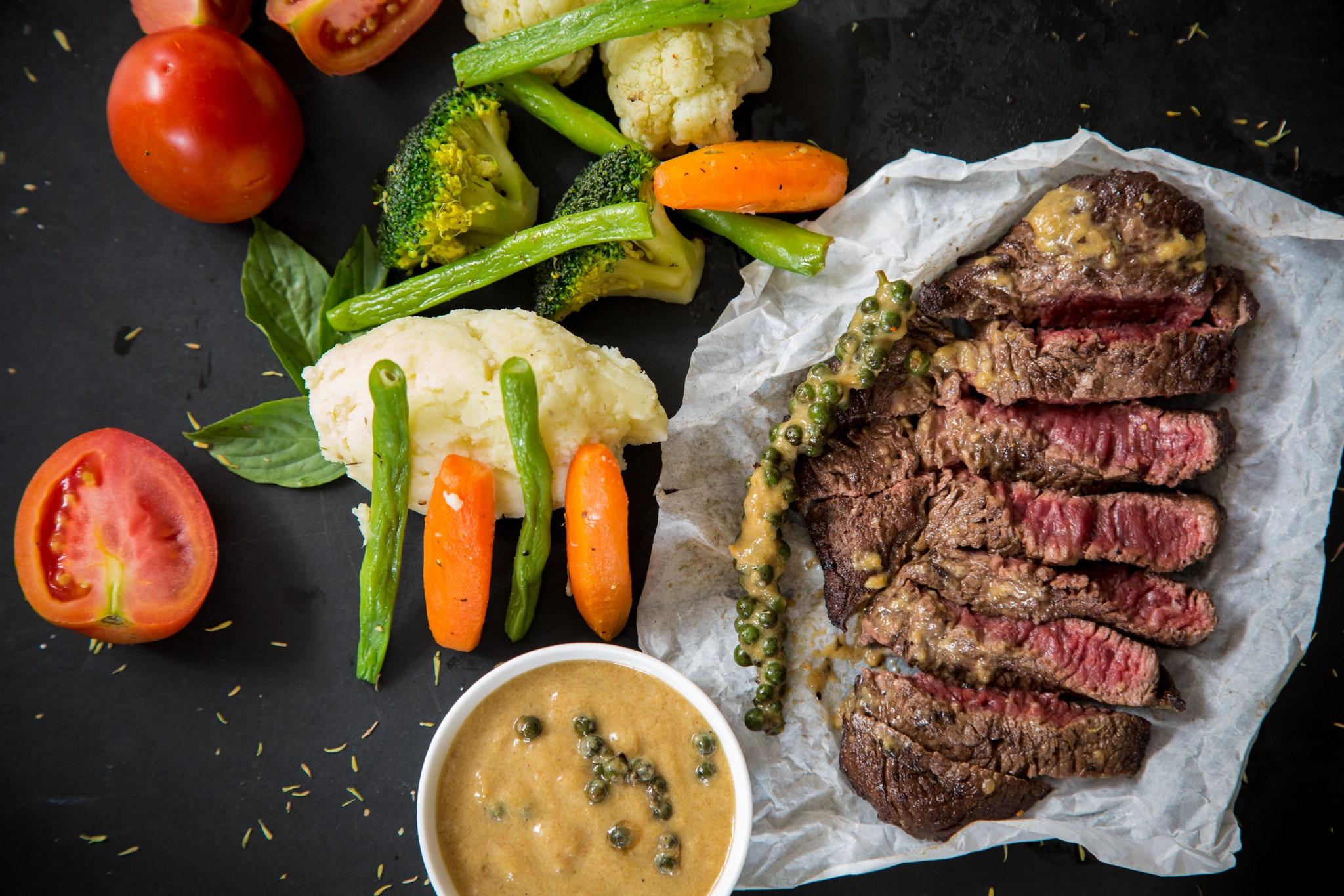 Broccoli Beef with Mixed Veggies