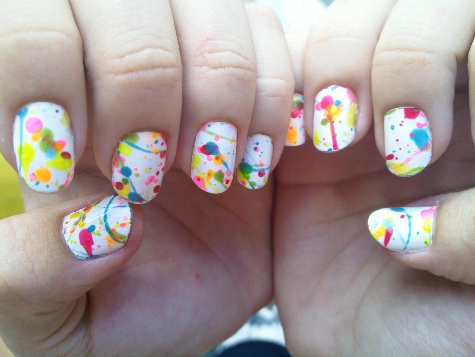 Splash Nail Art