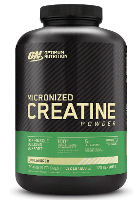Creatine Monohydrate Pre-Workout Supplement Powder-image