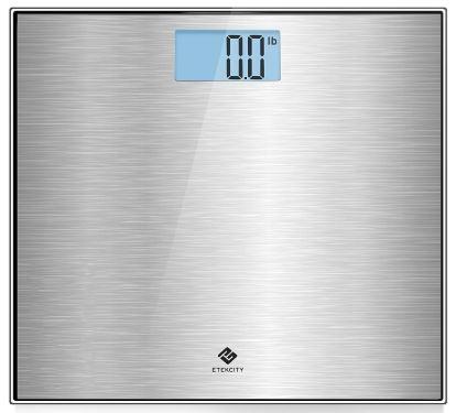 Etekcity Stainless Steel Digital Body Weight Bathroom Scale-image