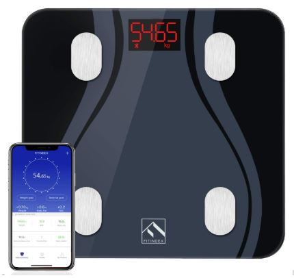 FITINDEX Smart Bluetooth Body Fat Scale-image