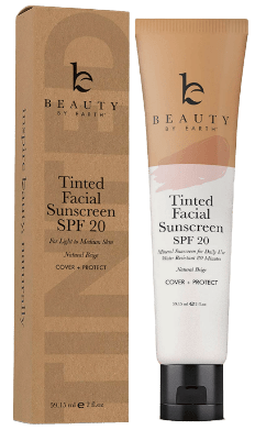 Beauty By Earth Tinted Sunscreen for Face-image