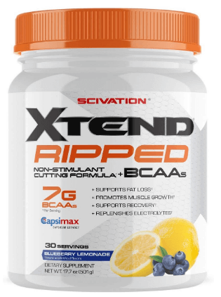 Xtend Ripped Bcaa Pre-Workout Supplement Powder-image