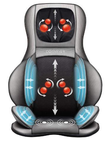 Comfier Shiatsu Neck & Back Massager-image