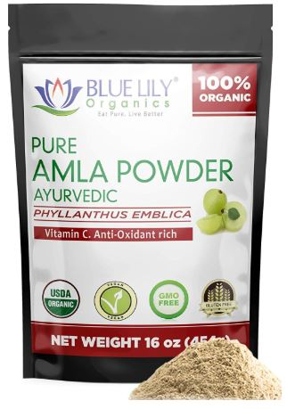Blue Lily Organics Amla Fruit Powder-image