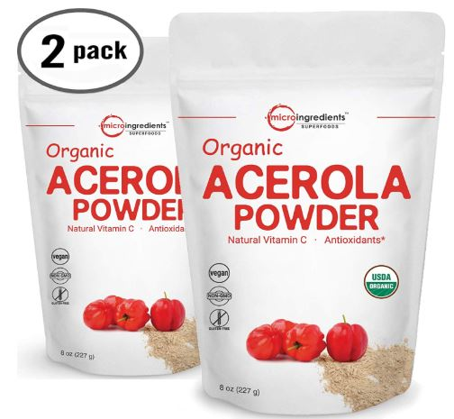 Pure USDA Organic Acerola Cherry Powder-image
