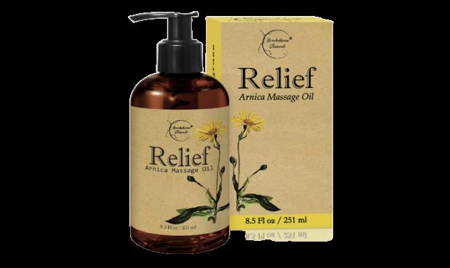 Relief Arnica Massage Oil-image