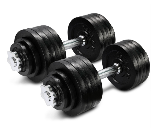 Yes4All Adjustable Dumbbells-image