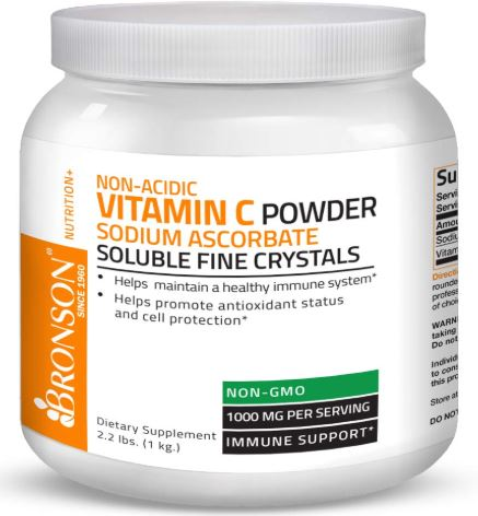Non Acidic Vitamin C Powder-image