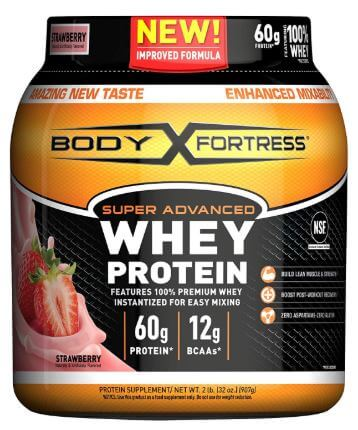 Body Fortress Super Advanced Whey Protein Powder-image