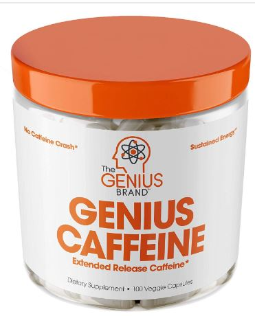 Extended Release Microencapsulated Caffeine Pills-image