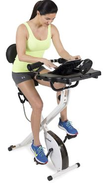 FitDesk Desk Exercise Bike and Office-image