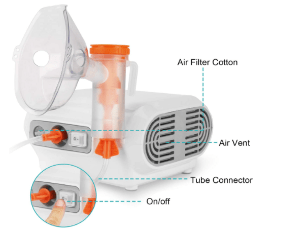 MAY LUCK Portable Oxygen Concentrator Nebulizer-image