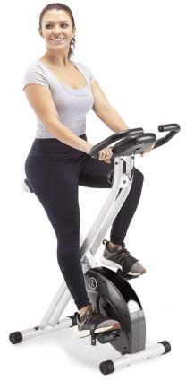 Marcy Foldable Upright Exercise Bike-image