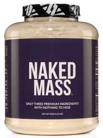 Naked Mass - Natural Weight Gainer Protein Powder-image