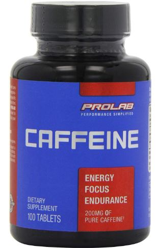 Prolab Caffeine Tablets 100 Count-image