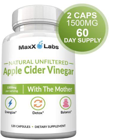 Raw Apple Cider Vinegar Capsules-image