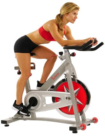 Sunny Health & Fitness Pro Indoor Cycling Bike-image