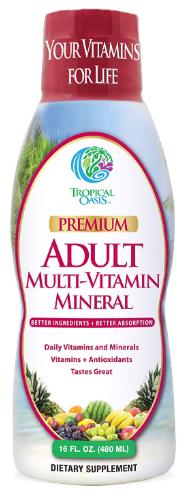 Tropical Oasis Adult Liquid Multivitamin-image