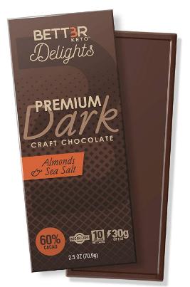 BETTER KETO, Premium Dark Craft Chocolates-image