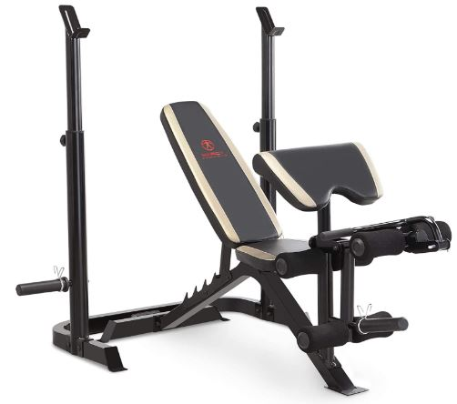 Marcy Adjustable Olympic Weight Bench-image