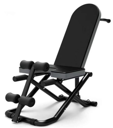 TOPYL Multifunctional Weight Bench & Headstand Bench:-image