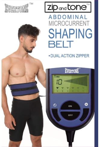 Evertone Zip and Tone Abs & Butt Waist Trimmer-image