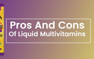 pros and cons of liquid multivitamins