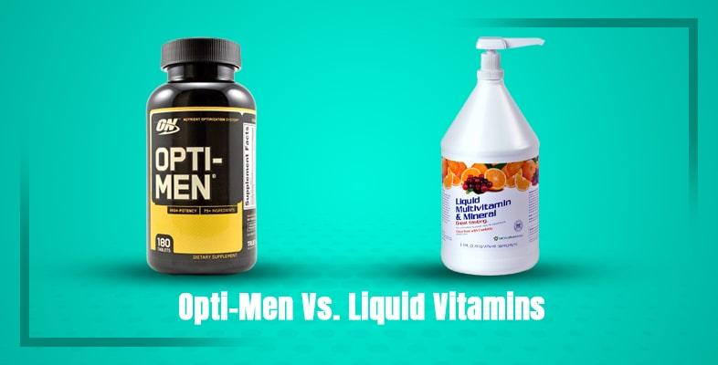 Optimen Vs. Liquid Vitamins