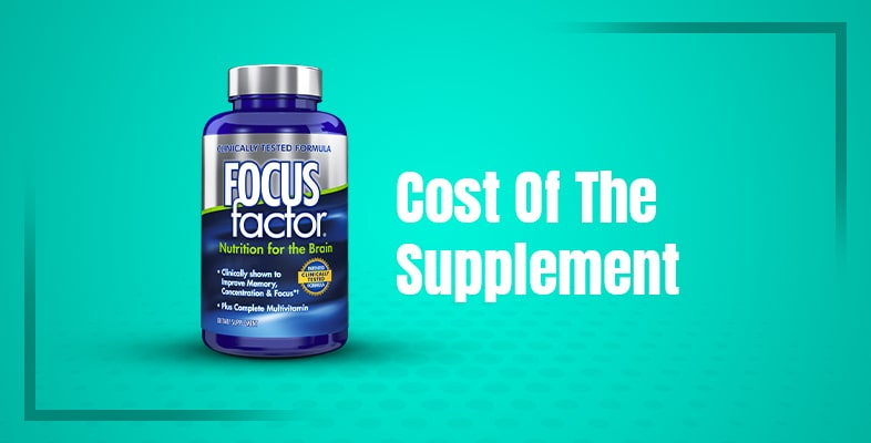 Cost Of The Supplement