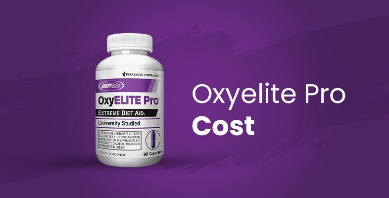 Oxyelite Pro Cost