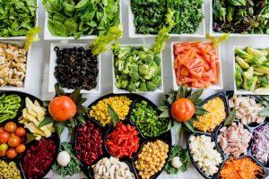 3. Eat Healthy Greens and Fruits-