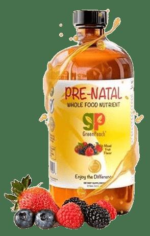 GreenPeach Liquid Prenatal Vitamins-image
